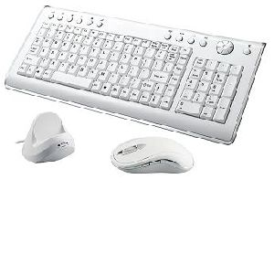 wireless multimedia keyboard and mouse combo