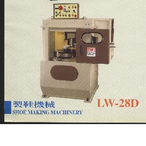 LW-28D Auto sole edge grinding & forming shoe machine