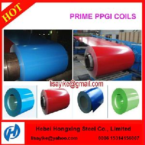 PPGI PPGL Color Coated Prepainted Galvanized Steel Coil