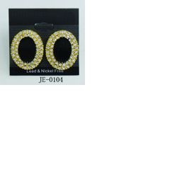 charm diamond earing