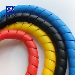 flexible plastic spiral protective sleeve
