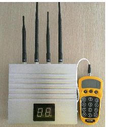 network jamming system with remote monitoring, can be upgraded to more than 4 channels