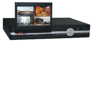7' LCD Monitor Real time 3G Networking standalone DVR
