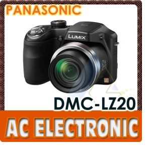 Panasonic Lumix DMC-LZ20 Digital Camera (Black)