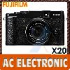Fujifilm X20 Digital Camera (Full Black)