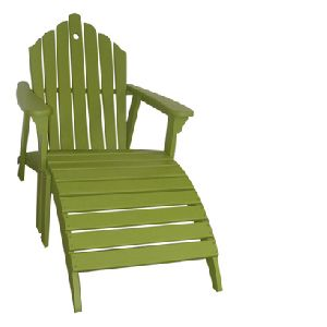 Adult Adirondack Relaxing Chair with Ottoman