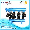 Full automatic disc water filter circulation system for farming