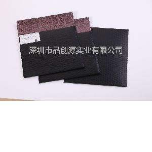 Black buffering conductive film composite bubble bags