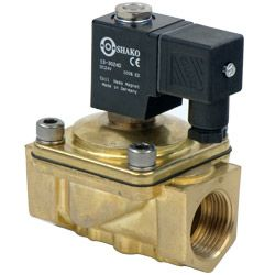 2/2 Way Direct Acting Brass Solenoid Valves