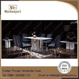 Greece import volakas marble table set