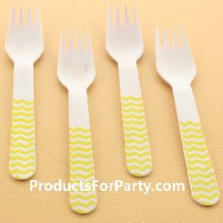 Wooden Cutlery, Cheap Party Supplies