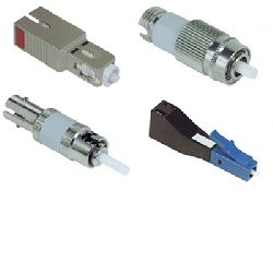 LC/PC optic fiber attenuator-build out fixed style