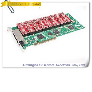 16 Channels Telephone Recording PCI Card telephone call voice logger
