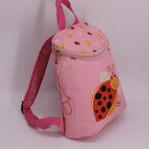 Girl Backpack for Primary Grades with Cute Printing