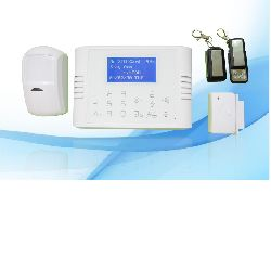GSM SMS Alarm System with touch keyboard