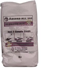 Absorb-All Absorbent - 15 lb bag (2 cuft)