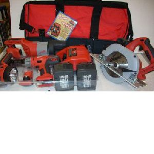 Milwaukee 0928-29 V28 28 Volt Four Tool Combo Kit