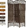 Natural Woven Fiber Straw Foldable Room Partition (Divider)