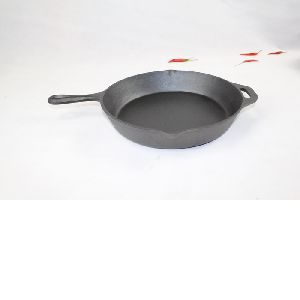 Die-Casting Frying Skillet And Pan With Handle